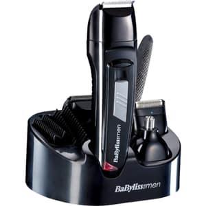 Aparat multifunctional BABYLISS Multi8 Face&Body E824E, 30 min autonomie, negru