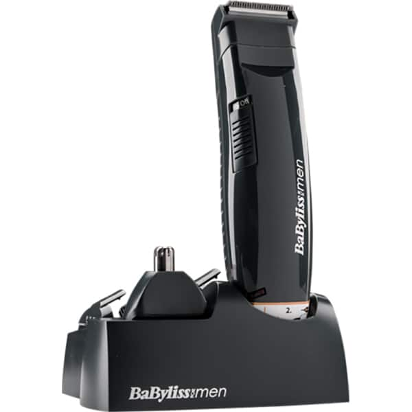 Aparat multifunctional BABYLISS Multi-Trimmer 6 in 1 Style Edition E820PE, 30 min autonomie, negru