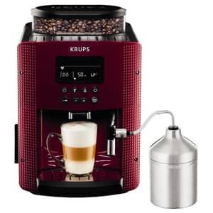 Espressor automat KRUPS Essential EA816570, 1.7l, 1450W, 15 bar, rosu-negru