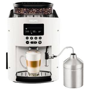 Espressor automat KRUPS Espresseria EA816170, 1.7l, 1450W, 15 bar, alb-negru
