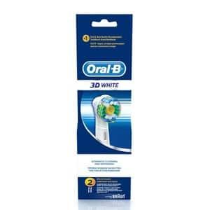 Rezerve periuta de dinti electrica ORAL-B 3D White EB18, 2buc