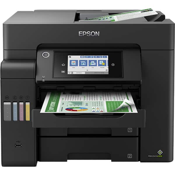 Multifunctional inkjet color EPSON EcoTank L6550 CISS, A4, USB, Retea, Wi-Fi, Fax