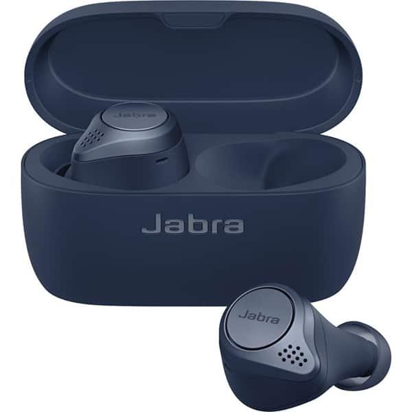 Casti JABRA Elite Active 75t, True Wireless, Bluetooth, In-Ear, Microfon, navy