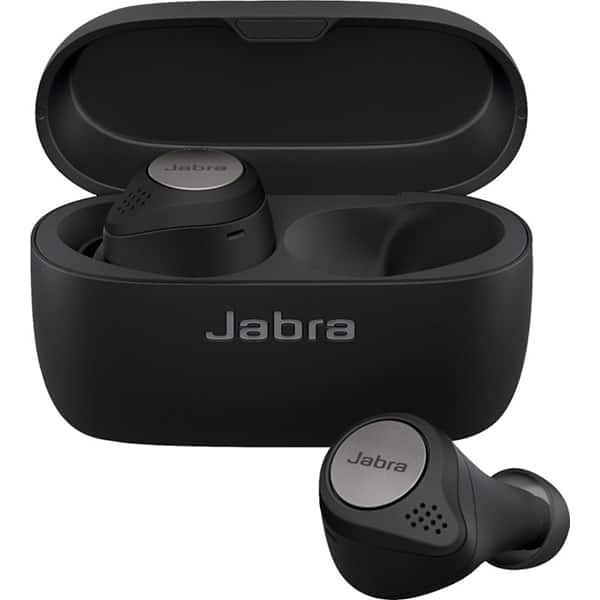 Casti JABRA Elite Active 75t, True Wireless, Bluetooth, In-Ear, Microfon, titanium black