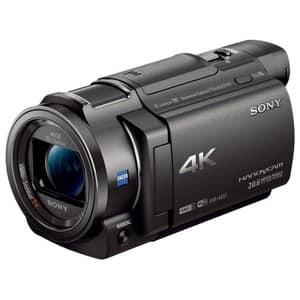 Camera video SONY HandyCam FDR-AX33, 4K, Wi-Fi, negru