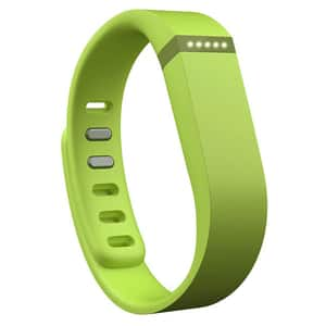 Bratara fitness FITBIT Flex, Android/iOS, silicon, verde