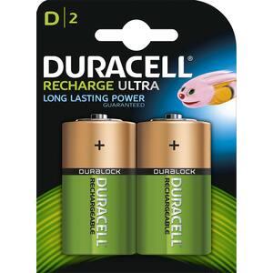 Acumulatori DURACELL 81364737, D(R20), 2200 mAh, 2 bucati