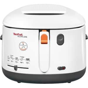 Friteuza TEFAL One Filtra FF1621, 1.2kg, 1900W, alb