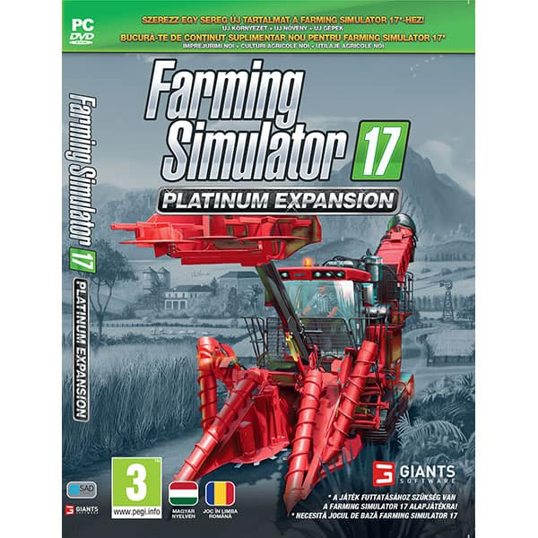 Farming Simulator 17 Platinum Expansion PC