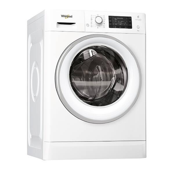 Masina de spalat rufe frontala WHIRLPOOL FWD91496WSEU, 6th sense, 9kg, 1400rpm, Clasa A+++, alb
