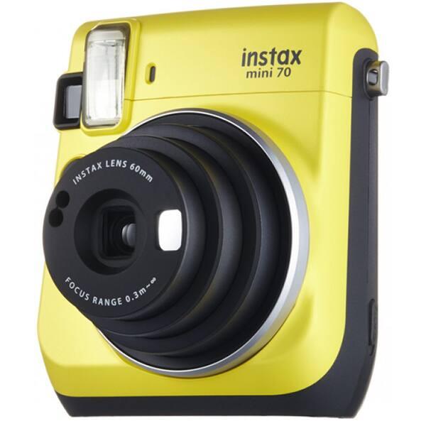 Camera foto instant FUJI Instax Mini 70, galben