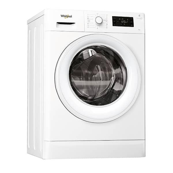 Masina de spalat rufe frontala WHIRLPOOL FWSG71253WEU, 6th sense, 7kg, 1200rpm, Clasa A+++, alb