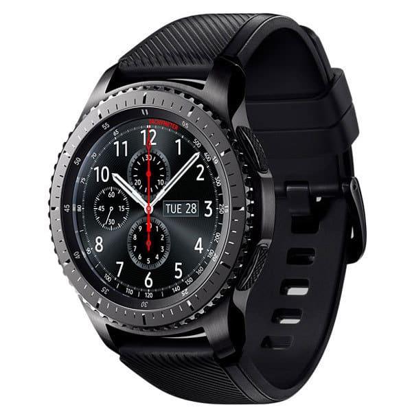 Smartwatch SAMSUNG Gear S3 Frontier, Android, silicon, negru