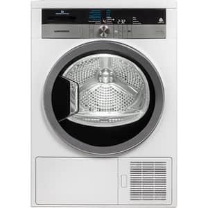 Uscator de rufe hibrid GRUNDIG GTN38267GC, Touch Dry, Pompa de caldura, 8kg, 16 programe, Clasa A+++, alb