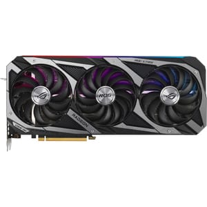 Placa video ASUS ROG Strix NVIDIA GeForce RTX 3080 V2 White OC Edition, 10GB GDDR6X, 384bit