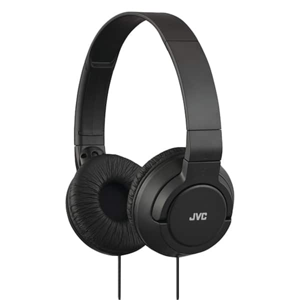 Casti JVC HA-S180-B-E, Cu Fir, On-Ear, negru