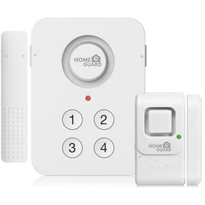 Kit sistem de alarma wireless HOMEGUARD HGPMA610, alb