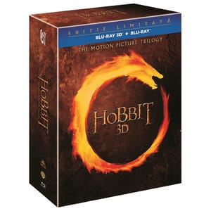 Trilogia Hobbitul Blu-ray 3D