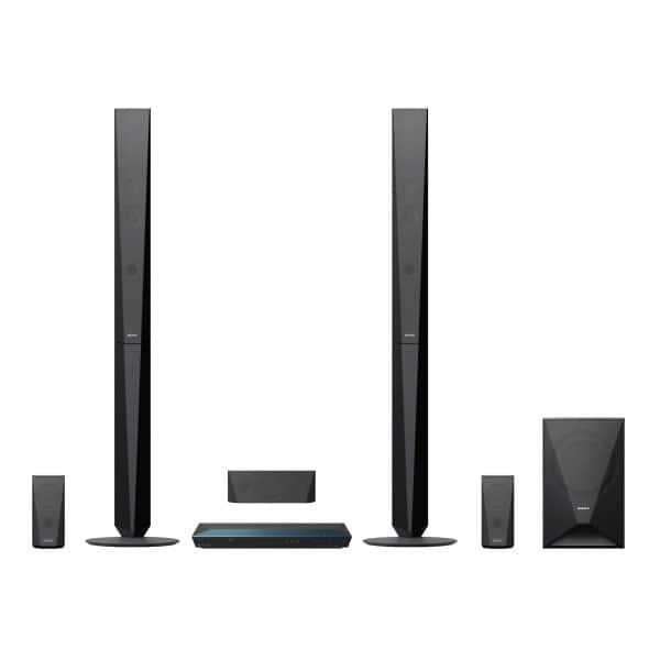 Sistem Home Cinema Blu-ray 3D SONY BDV-E4100, 5.1, 1000W, Wi-Fi, Bluetooth, NFC, Dolby, DTS, negru