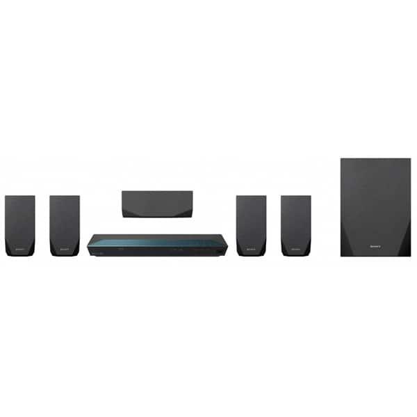 Sistem Home Cinema Blu-ray 3D SONY BDV-E2100, 5.1, 1000W, Wi-Fi, Bluetooth, NFC, Dolby, DTS, negru