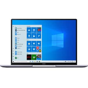 "Laptop HUAWEI MateBook 14, AMD Ryzen 5-4600H pana la 4.0GHz, 14"" QHD, 16GB, SSD 512GB, AMD Radeon Graphics, Windows 10 Home, argintiu"