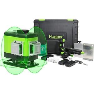Nivela cu laser HUEPAR 503DG, raza 35m, negru-verde