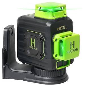 Nivela cu laser HUEPAR B02CG, raza 30m, negru-verde