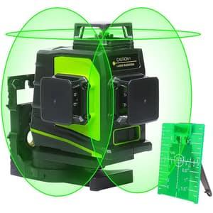Nivela cu laser HUEPAR GF360G, raza 30m, negru-verde