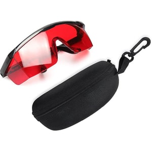 Ochelari de protectie HUEPAR GL01R, rosu