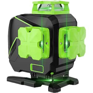 Nivela cu laser HUEPAR L04CG, raza 20m, negru-verde