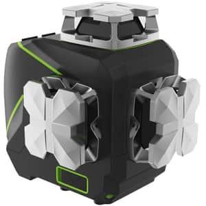 Nivela cu laser HUEPAR S03CG, raza 20m, negru-verde