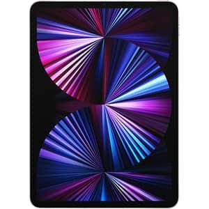 """Tableta APPLE iPad Pro 11"""" 3rd Gen (2021), 2TB, Wi-Fi + 5G, Silver"""