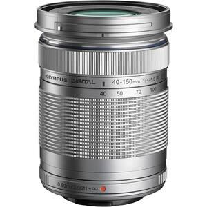 Obiectiv foto OLYMPUS M.ZUIKO Digital ED 40‑150 mm F4‑5.6 R, argintiu