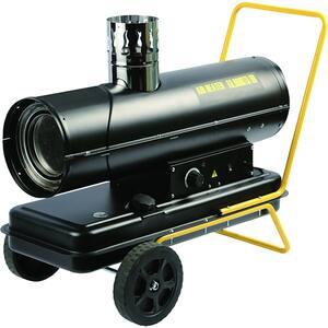 Tun caldura pe motorina cu ardere indirecta INTENSIV 53088, 20000W, negru-galben