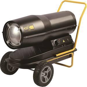 Tun caldura pe motorina cu ardere directa INTENSIV 53108, 30000W, negru-galben