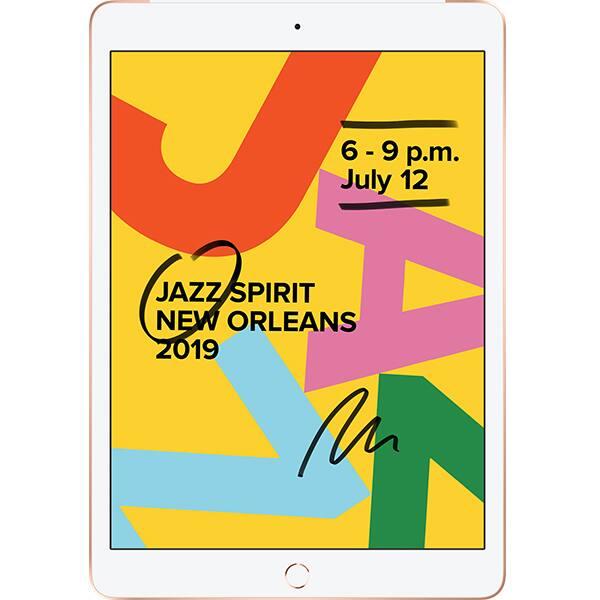 "Tableta APPLE iPad 7, 10.2"", 128GB, Wi-Fi + 4G, Gold"