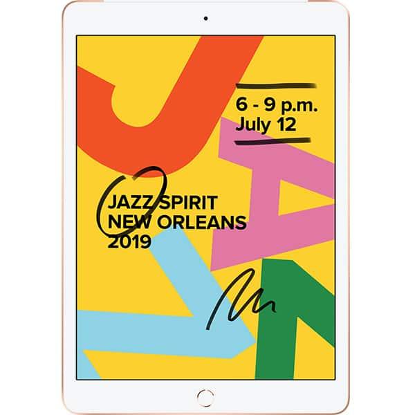 "Tableta APPLE iPad 7, 10.2"", 32GB, Wi-Fi + 4G, Gold"