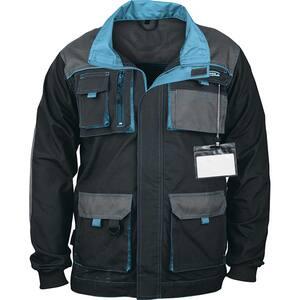 Jacheta de protectie GROSS, marime XL, albastru-negru
