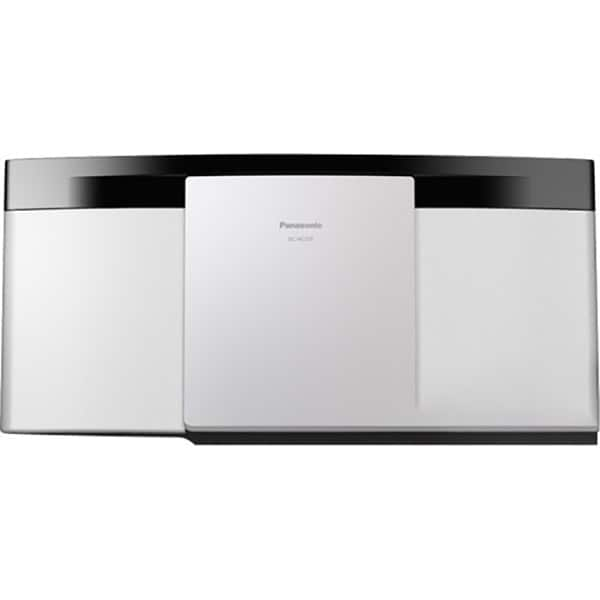 Microsistem PANASONIC SC-HC200EG-W, 20W, FM, CD, USB, Bluetooth, alb