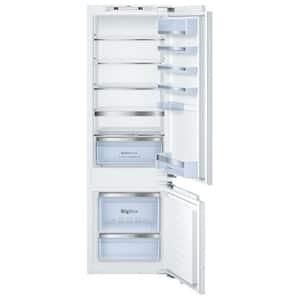 Combina frigorifica incorporabila BOSCH KIS87AF30, LowFrost, 270 l, H 177 cm, Clasa A++, alb