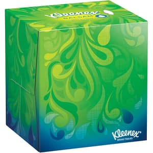 Servetele faciale KLEENEX Balsam Cube, 3 straturi, 56 buc