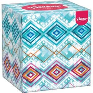Servetele faciale KLEENEX Box Collection Cube, 3 straturi, 56 buc