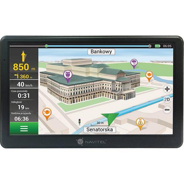"""Sistem de navigatie GPS NAVITEL E700, 7"""" Touch, Full Europa, Speedcam"""