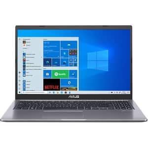 """Laptop ASUS X515JA-EJ1586T, IntelCore i3-1005G1 pana la 3.4GHz, 15.6"""" Full HD, 8GB, SSD 256GB, Intel UHD Graphics, Windows 10 Home, gri"""