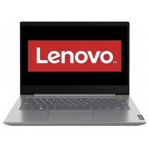 "Laptop LENOVO ThinkBook 14 IIL, Intel Core i5-1035G4 pana la 3.7GHz, 14"" Full HD, 8GB, SSD 256GB, Intel Iris Plus Graphics, Free DOS, gri"