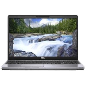 "Laptop DELL Latitude 5500, Intel Core i7-8665U pana la 4.8GHz, 15.6"" Full HD, 16GB, SSD 512GB, Intel UHD Graphics, Ubuntu, argintiu"