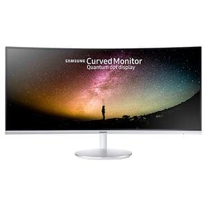 "Monitor Gaming curbat LED VA SAMSUNG LC34F791WQUXEN, 34"", UltraWide QHD, 100Hz, Flicker Free, alb"