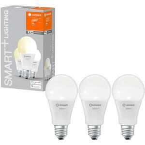 Set 3 becuri LED Smart LEDVANCE Classic 100, E27, 14W, 1521lm, Wi-Fi, lumina calda