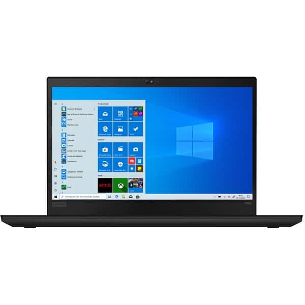 "Laptop LENOVO ThinkPad T495, AMD Ryzen 7 Pro 3700U pana la 4GHz, 14"" Full HD, 16GB, SSD 512GB, AMD Radeon Vega 10 Graphics, Windows 10 Pro, negru"