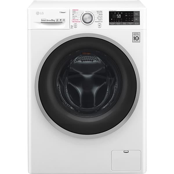 Masina de spalat rufe frontala LG F4J7TY1W, Wi-Fi, 8kg, 1400rpm, Clasa A+++, alb